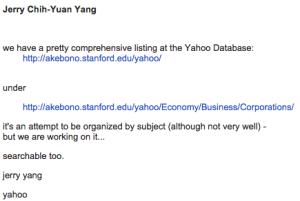 Yahoo Jerry Yang