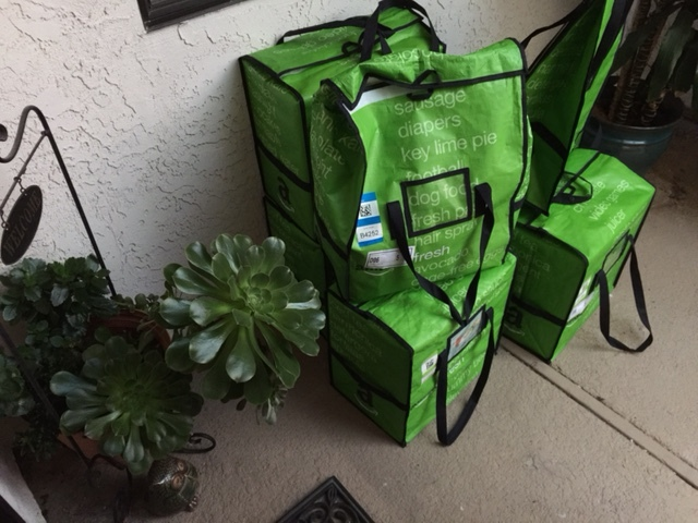 Doorstep Delivery from Amazon Fresh