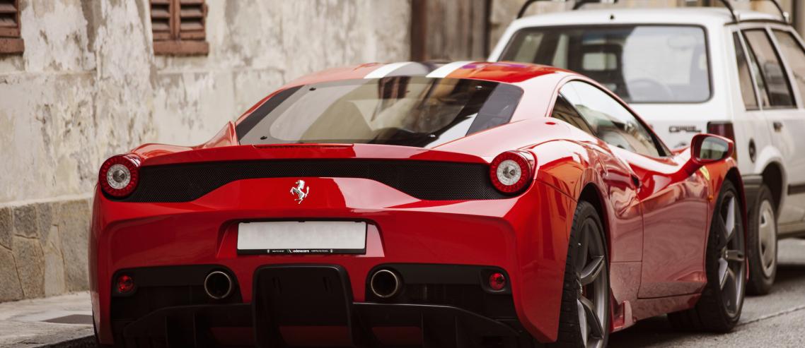 Ferrari - Your ABU Inspiration